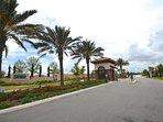 Resort ingresso / casa di guardia