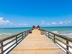 Naples Pier is a Must See in Naples for Travelers; Only a 15 Minute Drive from Rental Home!