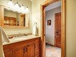 Ground floor shared bathroom with shower