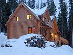 Winter view of Two-Bedroom Breckenridge Vacation Rental