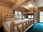 King and Twin-over-Twin Bunk Bedroom