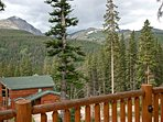 Deck View of Quandary Peak