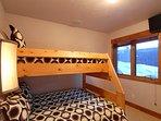 Twin over Full Bunk Bedroom