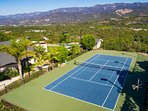 Have some free time fun during the day or under the lights on the tennis court
