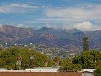 3rd floor views of Santa Ynez Mountains 'pink glow'