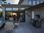 Front deck with new barbecue