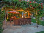 Sit and enjoy a cool drink in the Cabana