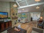 I soffitti alti creano spazio e sensazione di apertura