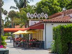 The original Sambo's Restaurant is right behind the Hideaway!