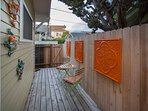 Cozy and quaint back deck