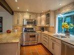 Bright, sunny Kitchen
