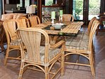 Great Room Dining Seats 8