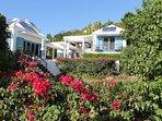 1-Ilios Villa features Mediterranean-style architecture