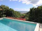 5-Refreshing Pool with Caribbean views