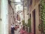 The neighborhood - part of the historic center of Split