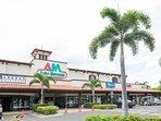 Shopping Center at Pacifico entrance