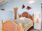 Oceana, MBR #2, Queen bed, separate sitting area, ensuite bath, access to front deck.