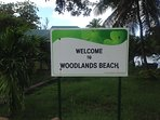 Woodlands Beach: Montserrat's premier black sand beach is walking distance from Alta Loma.