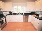Beautiful open kitchen with high end appliances