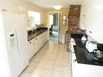 Inside you'll find this newly remodeled kitchen (2013) with everything you'll need