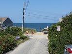 Walk under a minute to the beach path