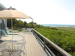 Directly on Cape Cod Bay nestled between Rock Harbor and Skaket Beach, this beach house simply has a great location and...