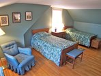 Third bedroom has twins and is also oversized. Another in-line air conditioner is located here.
