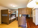 Ideal bunk room for kids of all ages