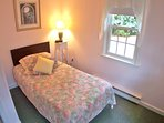 Main level BR with a single twin bed