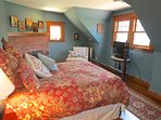 The third bedroom in the main house also has a queen bedroom