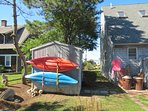 Two kayaks available for use