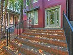 You'll absolutely love returning home to the apartment's charming red brick exterior.