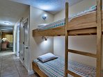Hall bunks . . . with their own reading lamps!
