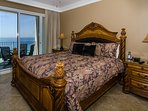 One of two King Master Suites that open onto the balcony with great Gulf Views!
