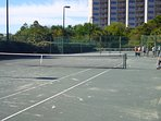 Two complimentary tennis courts onsite
