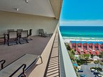 Your Gulf view from the balcony of Tides #1310!