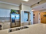 Washer and dryer inside the condo for super convenience!