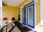 Screened in front porch and keyless entry to welcome you to your vacation!