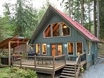 99MBR  Pet Friendly Cabin with a Hot Tub and WiFi