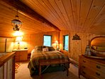 The loft bedroom is the third of three