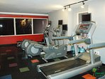State of the art fitness center is available for all guests to use.  So, you can keep up with your fitness routine even...