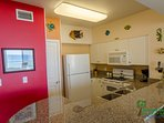 The colorful decor in this condo is so much fun!  You'll definitely be in the mood for vacation here!