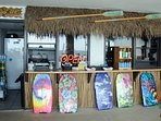 The Watercrest Tiki Bar!  Poolside snacks, drinks and beach goods.