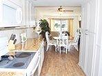 Open Floor Plan, Upgraded Kitchen El Matador Resort, Okaloosa Island Fort Walton Beach Vacation Rentals