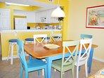 Dining Area Gulf Dunes Unit 108 Okaloosa Island Florida