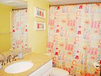 Guest Bathroom Gulf Dunes Unit 108 Okaloosa Island Florida