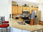 Kitchen Waters Edge Resort Unit 604 Fort Walton Beach Okaloosa Island Vacation Rentals