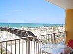 Balcony Gulf Dunes 214 Fort Walton Beach Okaloosa Island Vacation Rentals