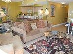 Living Room Waters Edge Resort 313 Fort Walton Beach Okaloosa Island