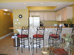Dining Area Waters Edge Resort 313 Fort Walton Beach Okaloosa Island